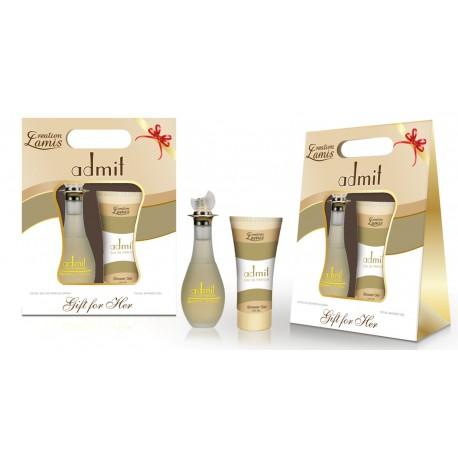 ADMIT EdT 100 ml + Shower Gel 100 ml CREATION LAMIS